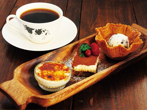 Dolce three prime tea set cafe time (14: 00-17: 00) limited
