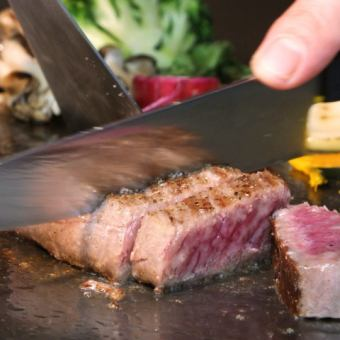 【1 most popular !!】 Kobe beef attached CHOUETTE Schuett course ⇒ 3800 yen (tax included)