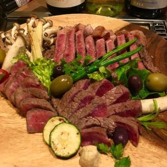 [슈퍼 호쾌!] 고기 축제 ♪ 약 6 종류의 고기가 아낌없이 즐거움하실 수 있습니다! ⇒1 인당 1900 엔 ~