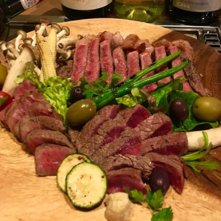 【Super superb !!】 Meat festival ♪ About 6 types of meat can be enjoyed luxuriously !! ⇒ 1900 yen per person ~