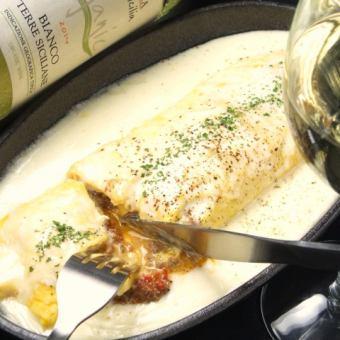 米蘭風格的奶酪煎蛋