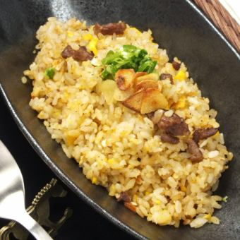 Garlic iron plate pilaf