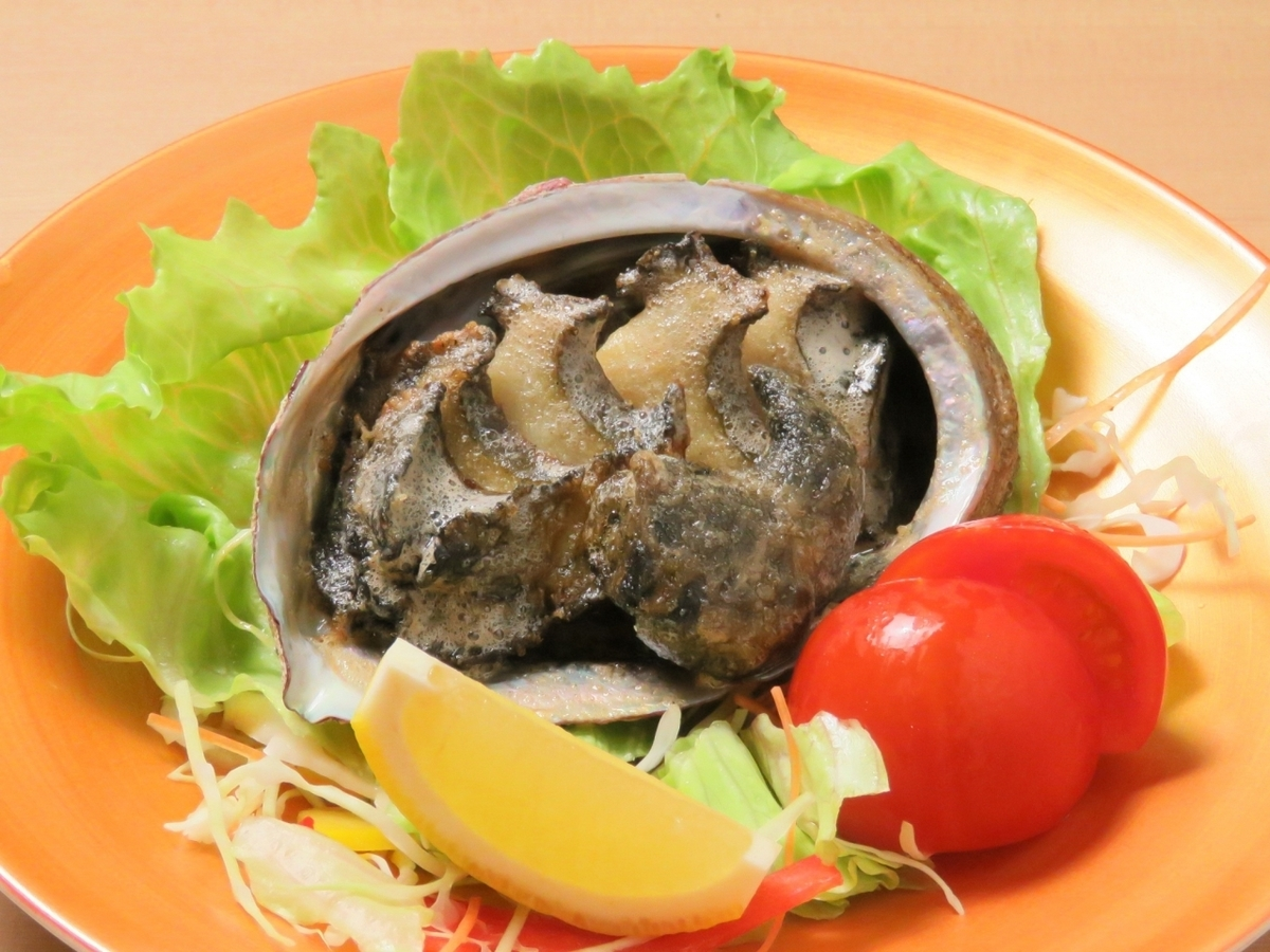 Baked abalone butter