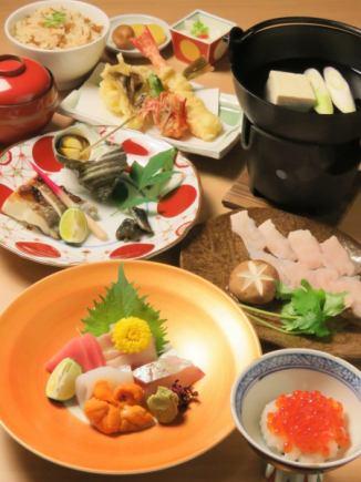 【浅间的特别优惠】Omakase Omakase 7项5000日元