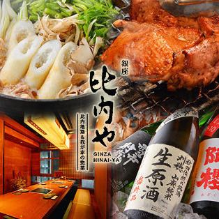 It is a private room where you can see the night view of Chuo Street, Recommended for entertainment, company banquet, date for taste drum ★ to HIRABU chicken.
