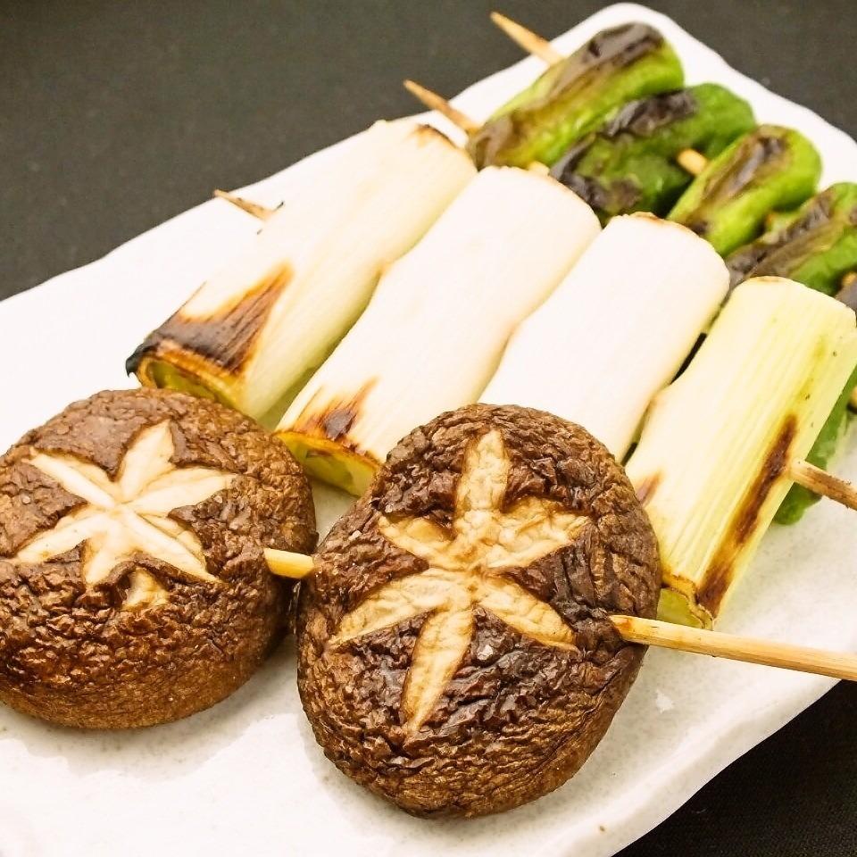 Shishito串燒/蘑菇串