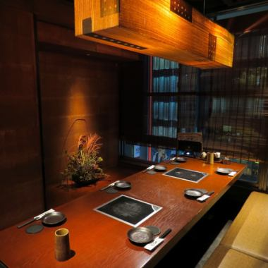 "【14 individual rooms】 Enjoy your meal while watching the main street of Ginza ☆ Complete night view room and entertaining private room.Maximum of 24 people available.""Ginza / Shinbashi / Shiodome / Hinnichi chicken / Yakitori / Nabe / Japanese sake / Private room / All you can drink / Entertaining / Banquet / Drinking party / Izakaya"""