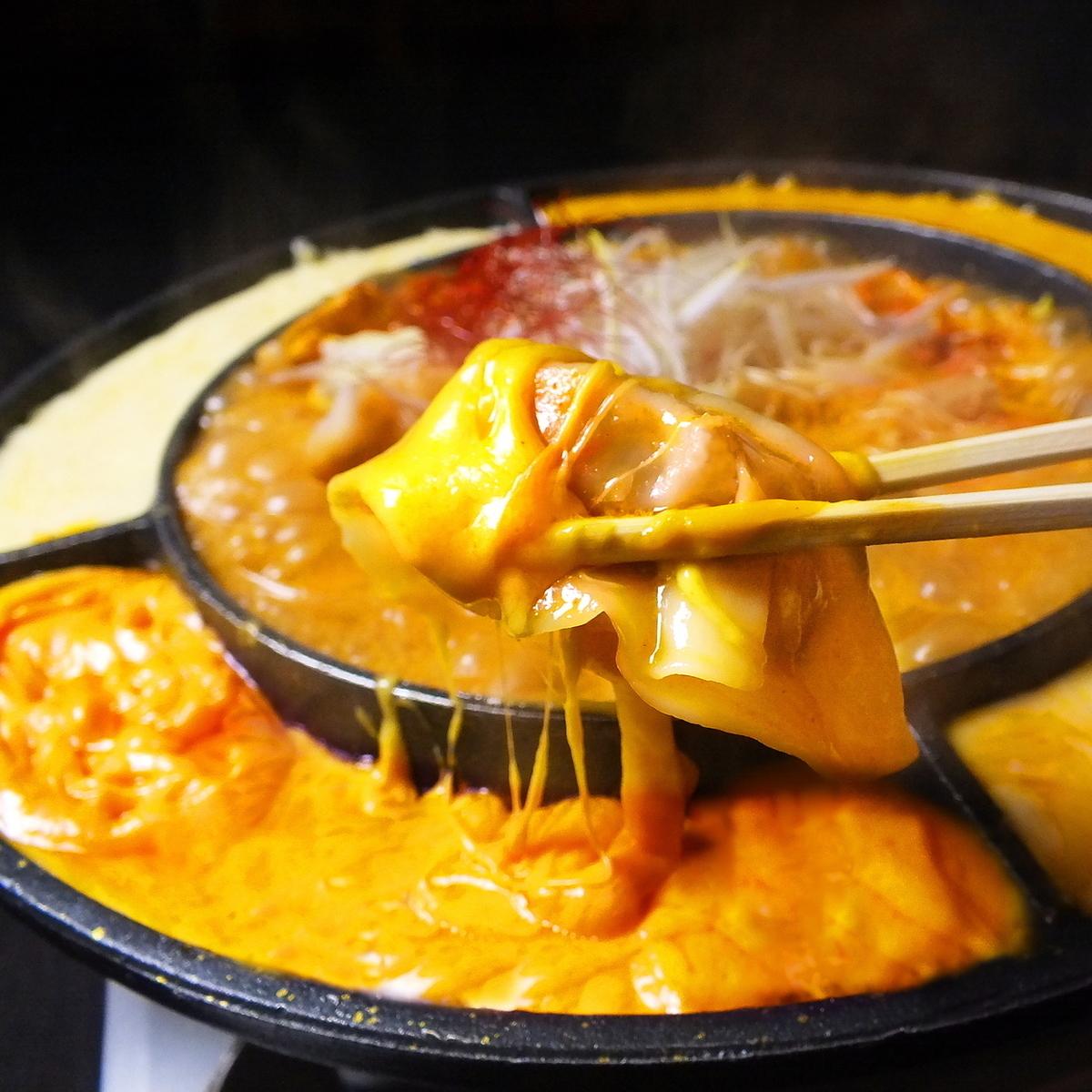 餃子チーズタッカルビ