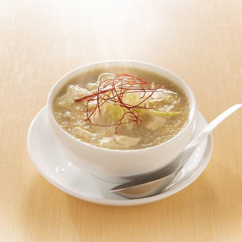 柚子胡椒の白湯麻婆豆腐