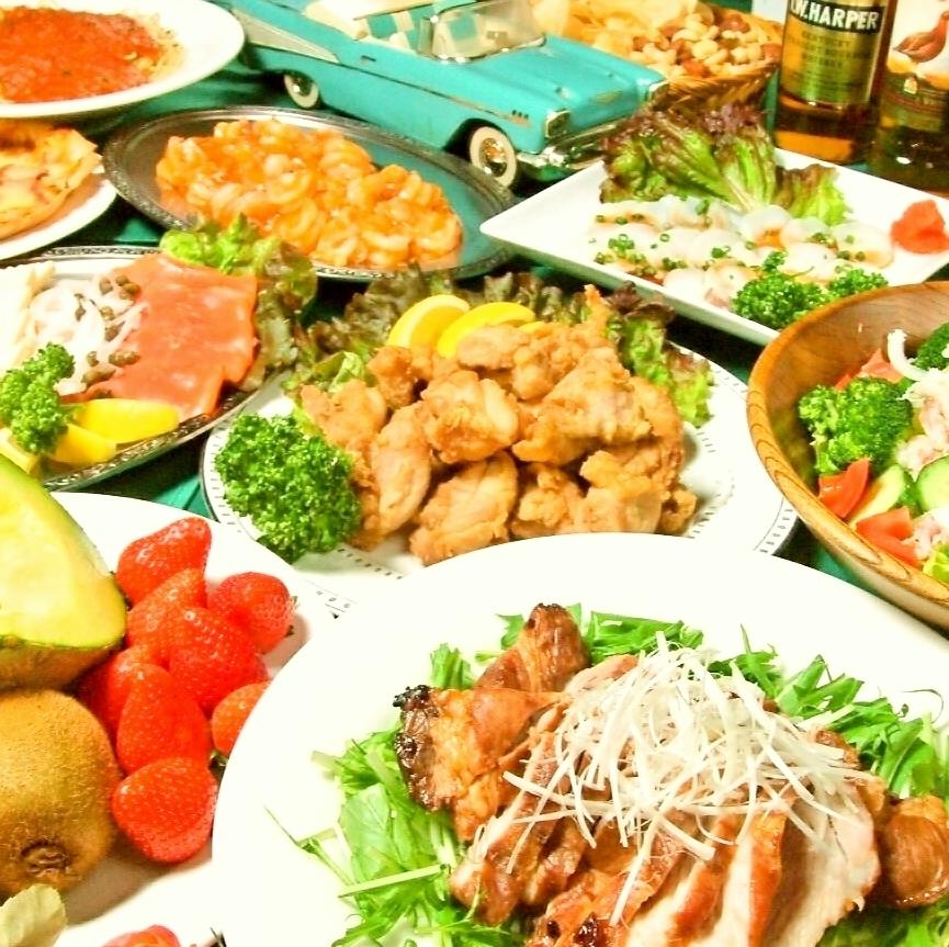 シェフ自慢の手料理コース