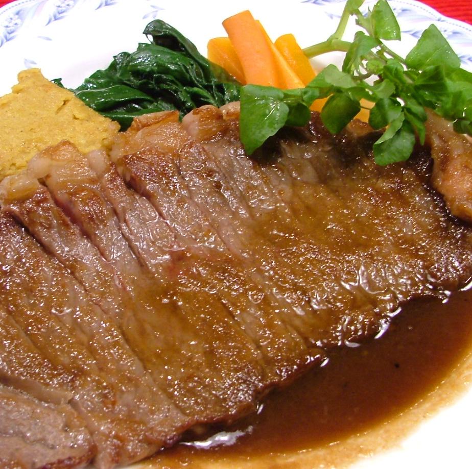ビーフステーキ(国産牛200g)