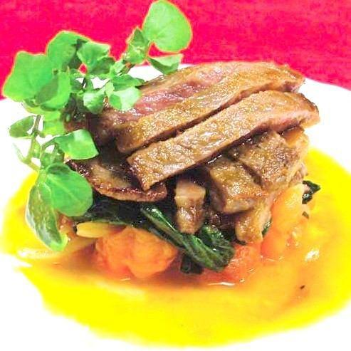 プロが作る絶品料理『サーロインステーキ(山形・仙台牛A5ランク)』