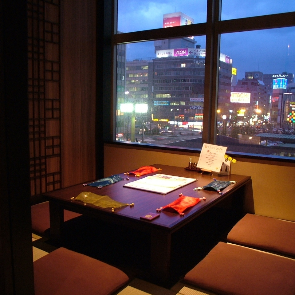 Hori-kotatsu private rooms
