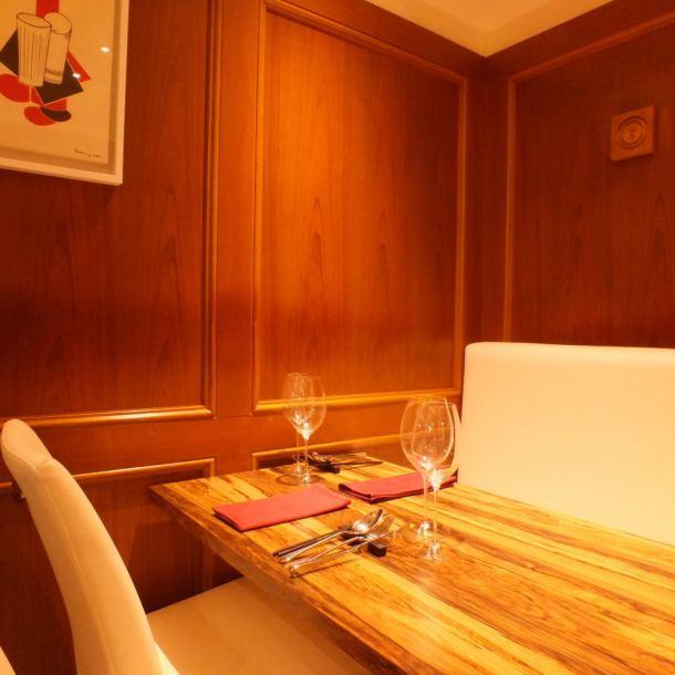 [豪華法式隨便可用]雖然它是一個現代時尚的空間,但它是最重要的舒適的商店。請在寧靜的氛圍中享用Yamane廚師製作的美味法國美食。