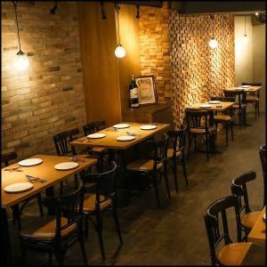 新橋・虎ノ門エリアのおしゃれなスペイン料理店。ママ会、女子会はもちろん合コン、2次会としてもご利用していただいております!