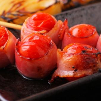 Tomato pork belly wound