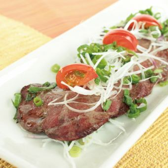 Thick slice beef tongue