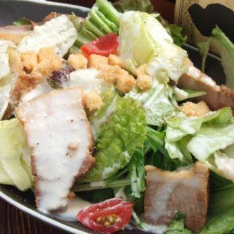 Of chicken bacon Caesar salad