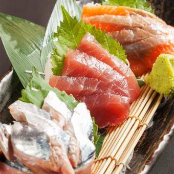 Sashimi three types prime