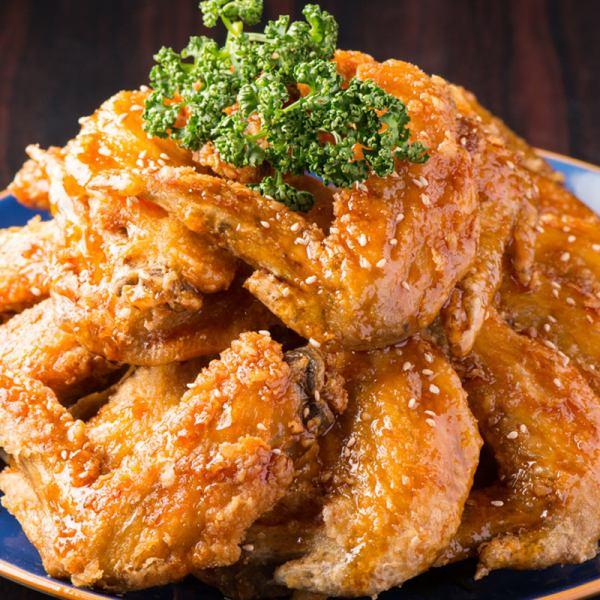 We eat 3 Japanese land chicken 'Nagoya Cochin'!