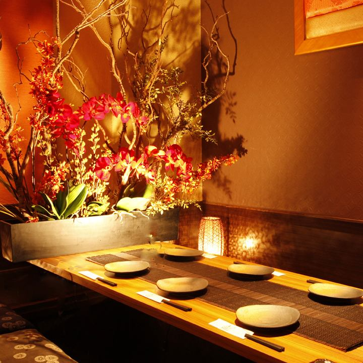 Adults space ♪ which private room to suit the scene, a sophisticated sum atmosphere of drifting