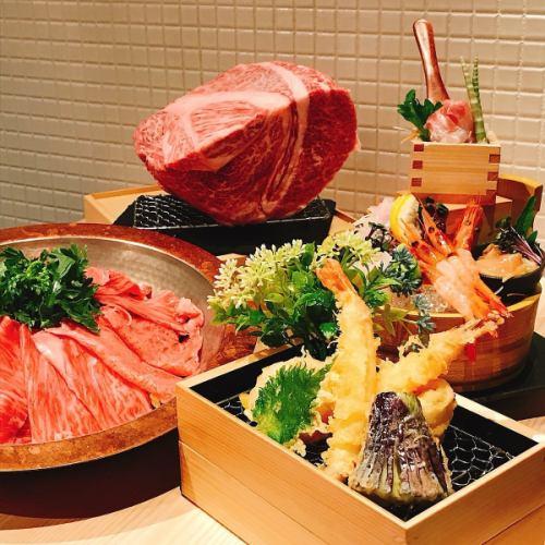 Bōnenkai! Kuroge Wagyu beef sukiyaki / cold weather course