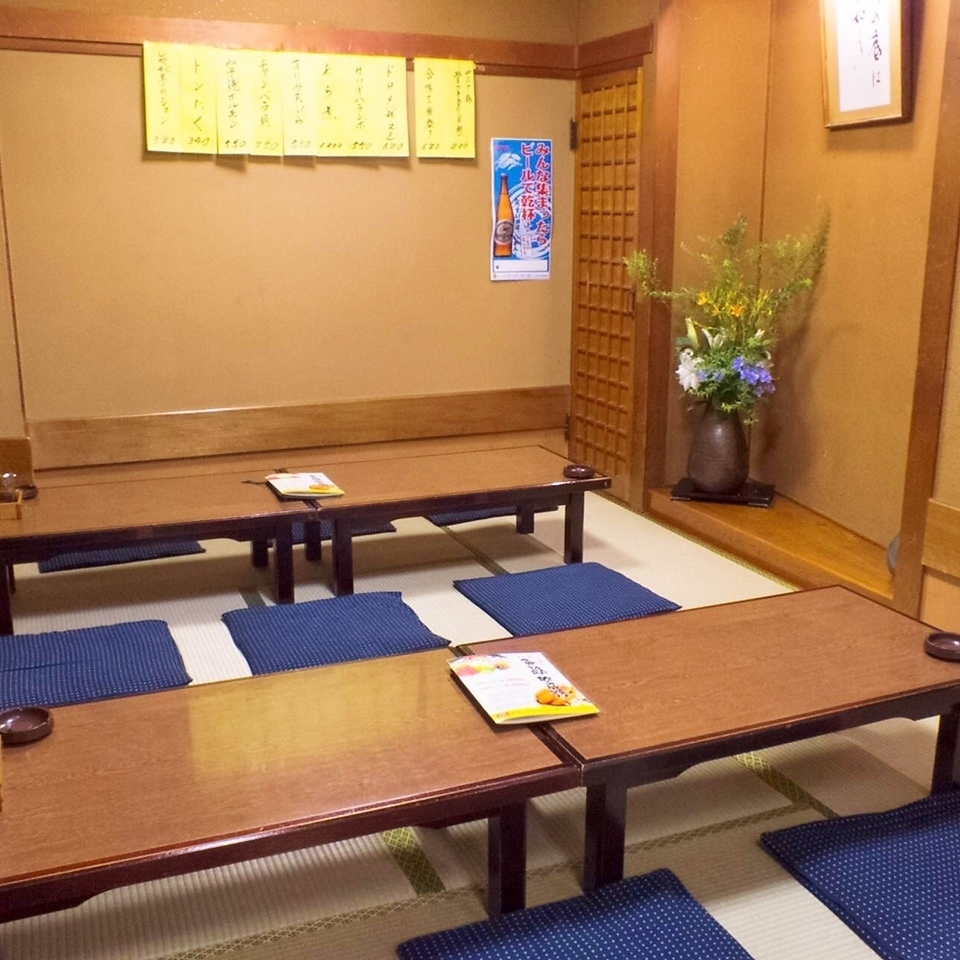 Resident Oshiki private room with reservations of 10 people or more 【Private room commitment】 Maximum banquet is possible up to 60 people !!