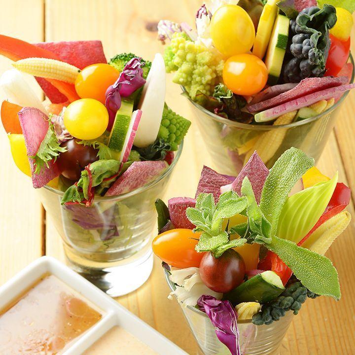 ベヂロカのお野菜(S・M・Lサイズでお野菜バーの野菜が全てつめ放題です♪)