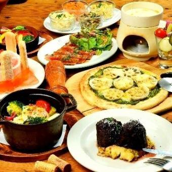 [생일이나 기념일】 쇠고기 & 메시지있는 케이크 타워 기념일 코스 <120 분 맘껏 마시기> 5000 엔