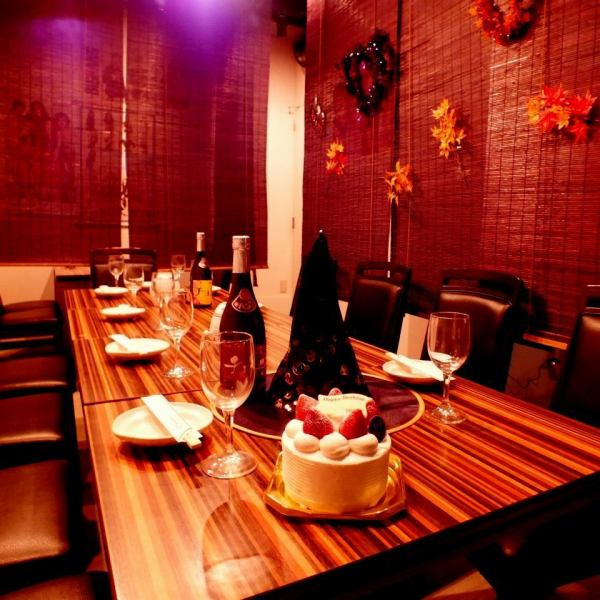 Since the seats of the basement is with the partition of the curtain, also available is available samgyeopsal in perfect ♪ 2 ~ 8 persons also to women meetings and joint party also Korean food should eat to greedy ♪