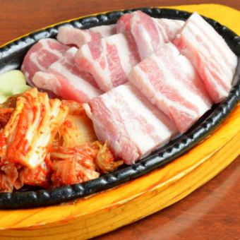 Samgyeopsal set meal