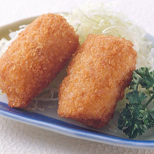 蟹クリームコロッケ(二個)/メンチカツ(二個)