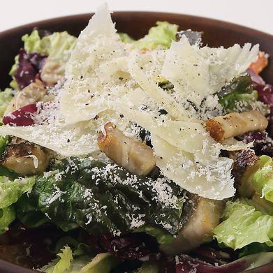 自家製ベーコンのシーザーサラダ/和風サラダ/季節のサラダ