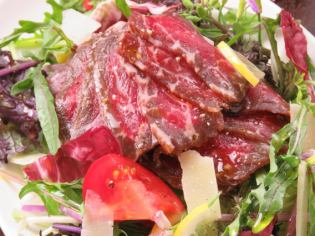"""Home-made beef ham and Nishio's early summer vegetables 2nd """"The leading salad"""""""