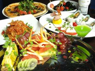 ◆ · ◆ Summer casual Italian course (with all you can drink 120 minutes) 8 items 3500 yen ◆ · ◆
