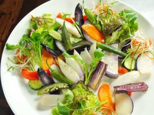 如果您來到RAROOM!在東北的地面蔬菜燒烤