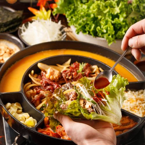 韓国料理も♪本場の『ダッカルビ』や『パネチキン』
