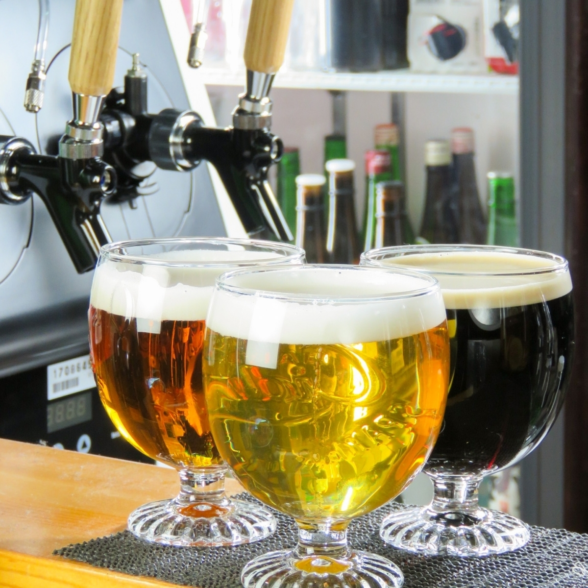 話題の生クラフトビール