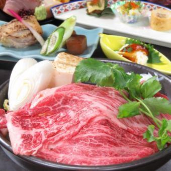 【前沢牛】【国産鰻】【短角牛】コース2H飲み放題付9品7000円
