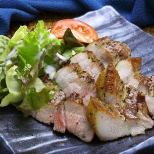 栗豚の藁燻製 ベーコン風味