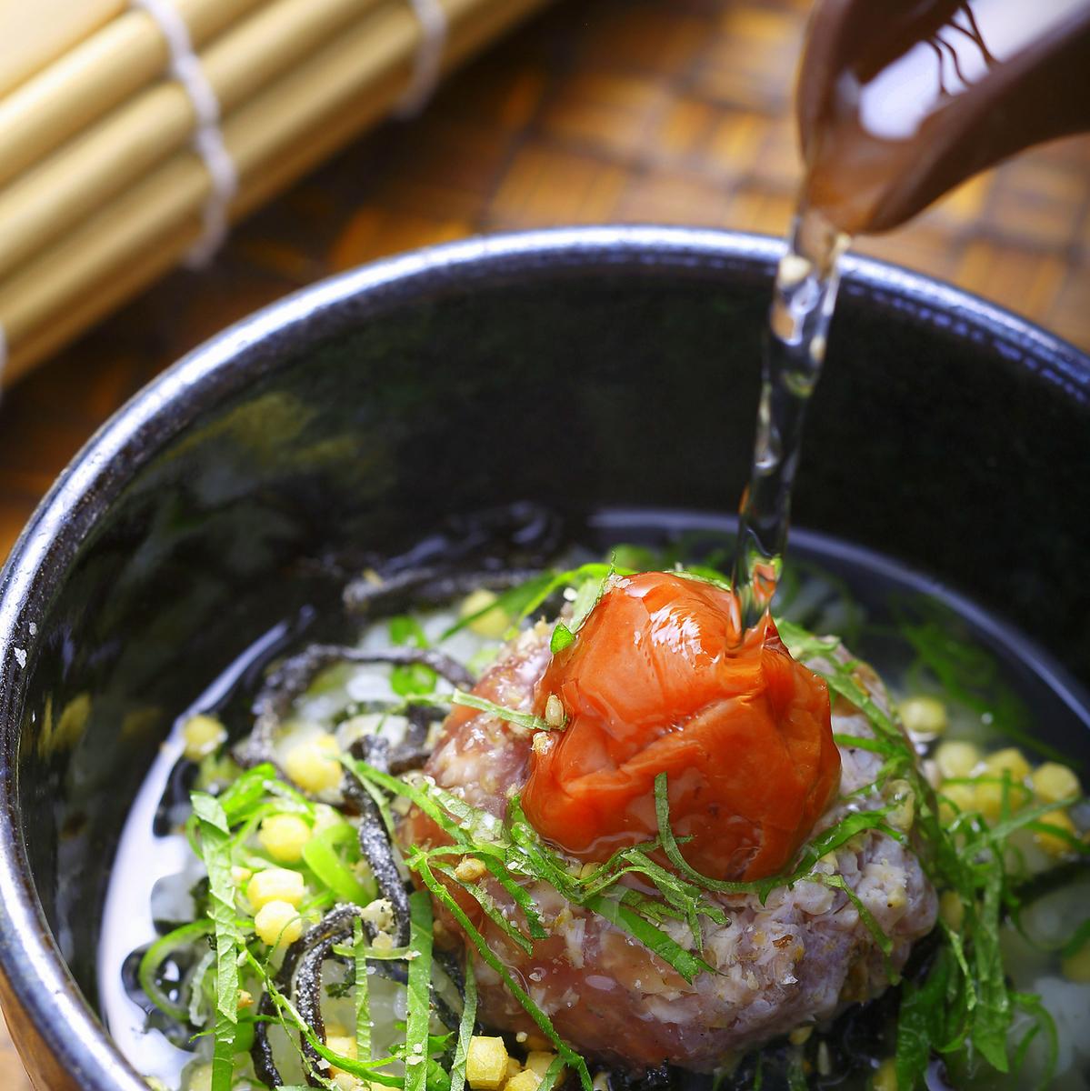 鰹魚李子鹹菜