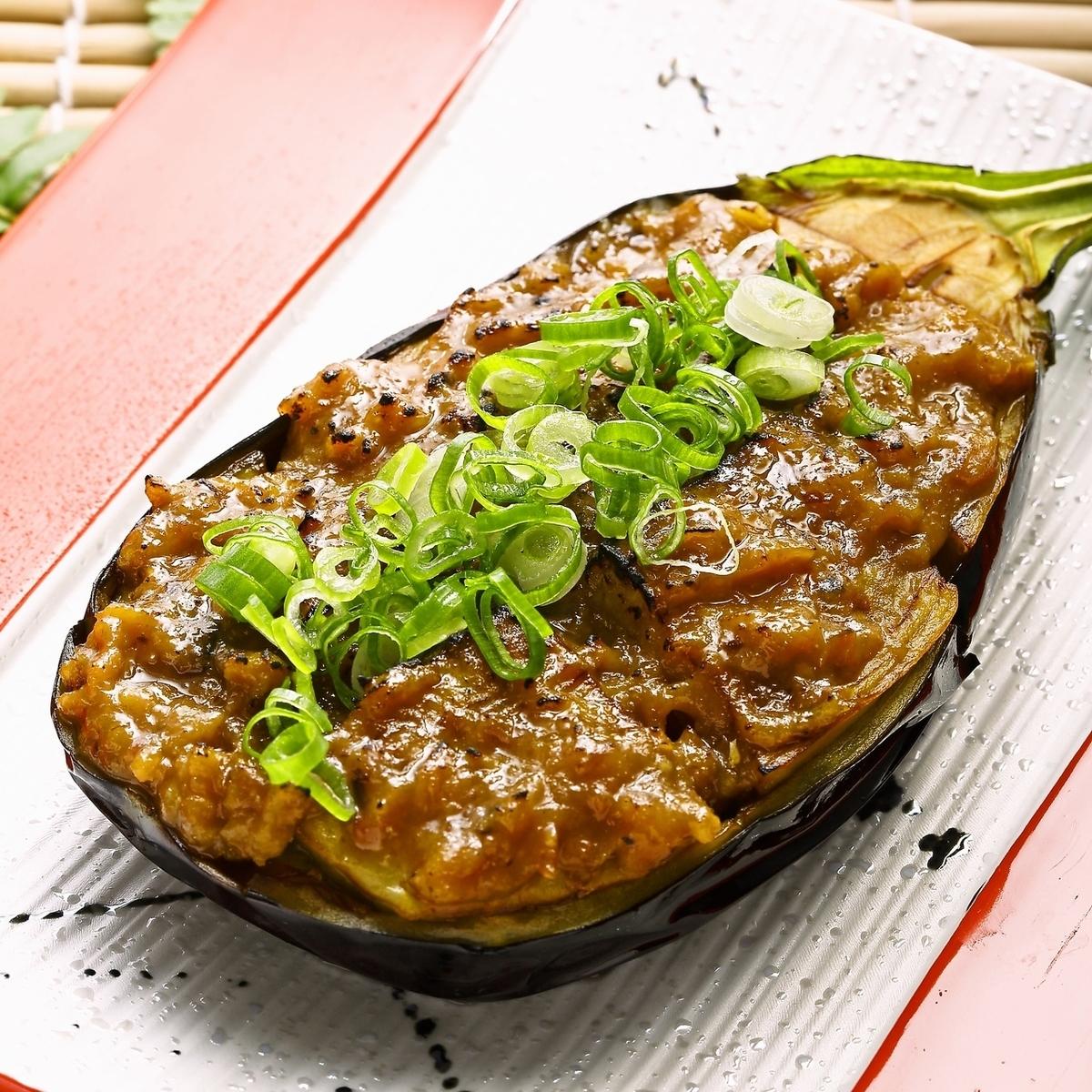 炒茄子特别鲣鱼鲣鱼味噌烧烤