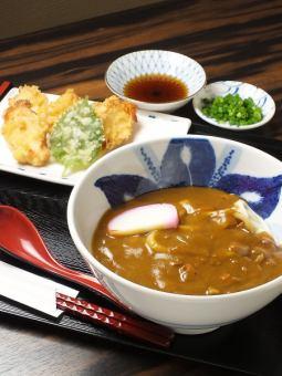 Kashiwa Curry Udon Warm / Trio Curry Udon Warm