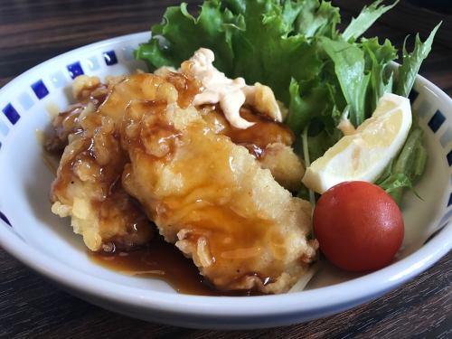 Chicken nanban (Toriten's sweet and sour sauce)