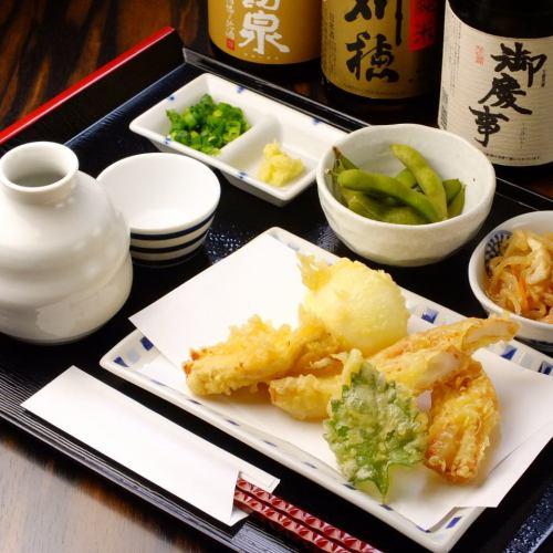 Tipsy set (sake)