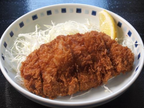Loin pork cutlet 180g (* 10 minutes deep-fried)