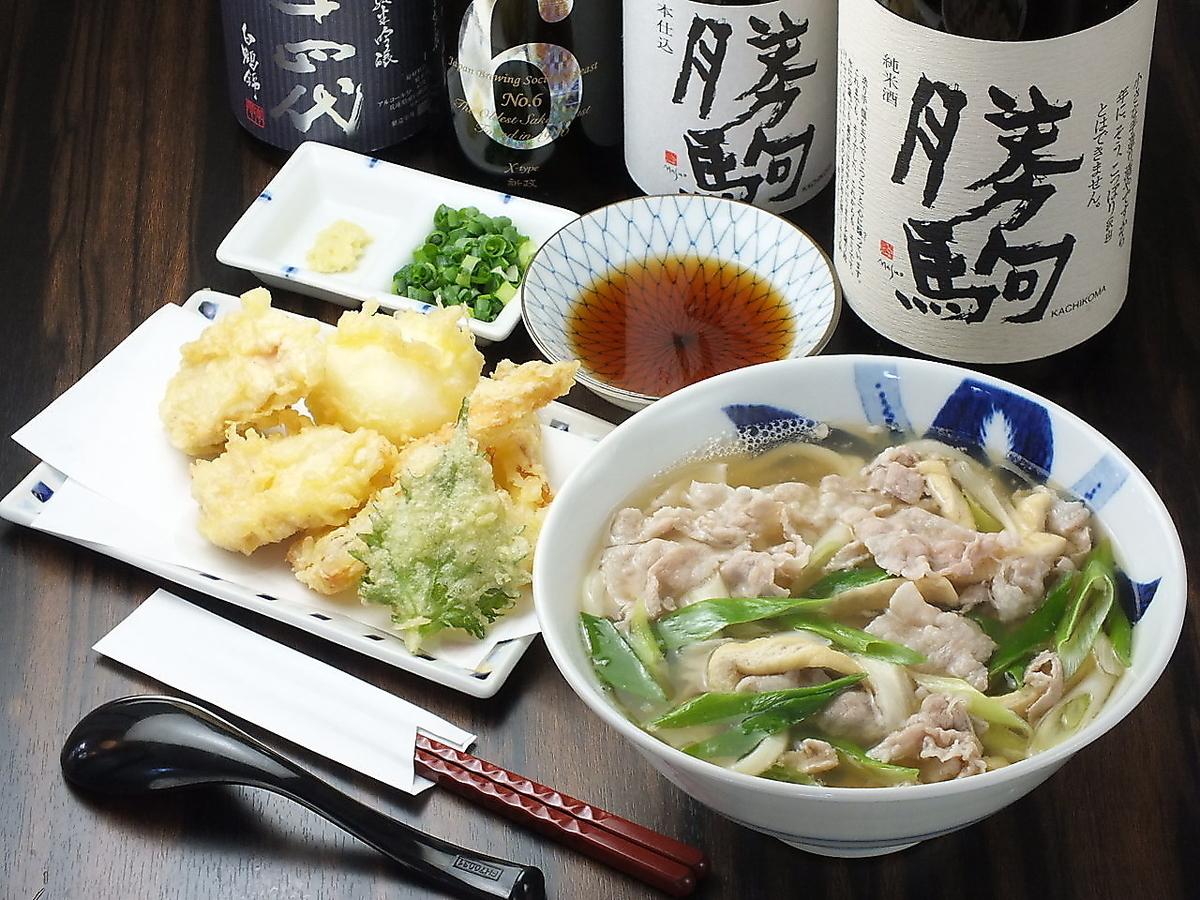 Trio Meat Kimami Udon Warm / Trio Gravy / Temperature