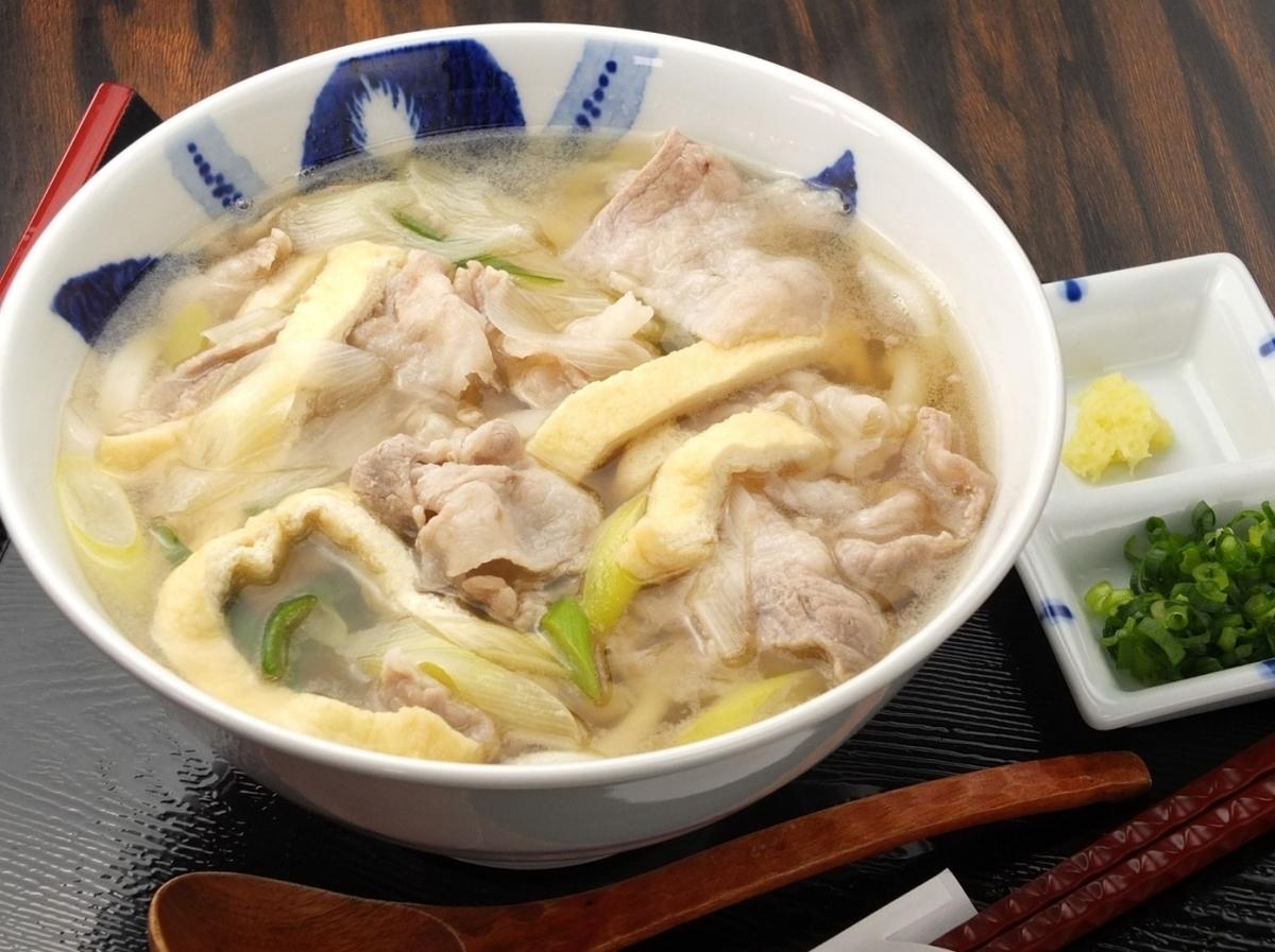 Meat Kimami Udon Warm