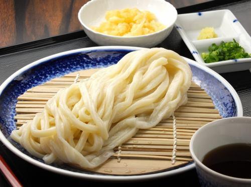 Mori udon (soup temperature allowed) Cold / Aim warm