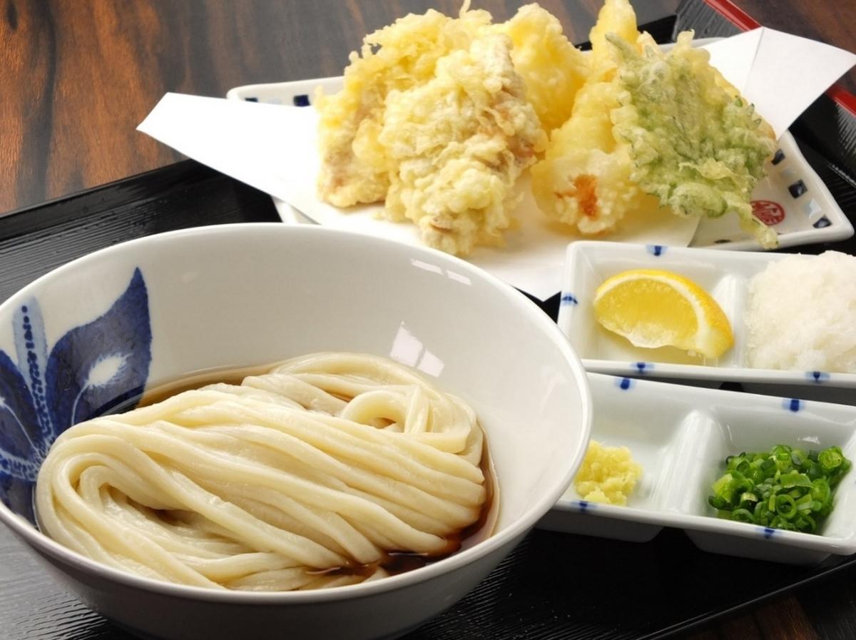 Trio udon cold · warm / shrimp udon udon (6 - 8 size) cold · warm